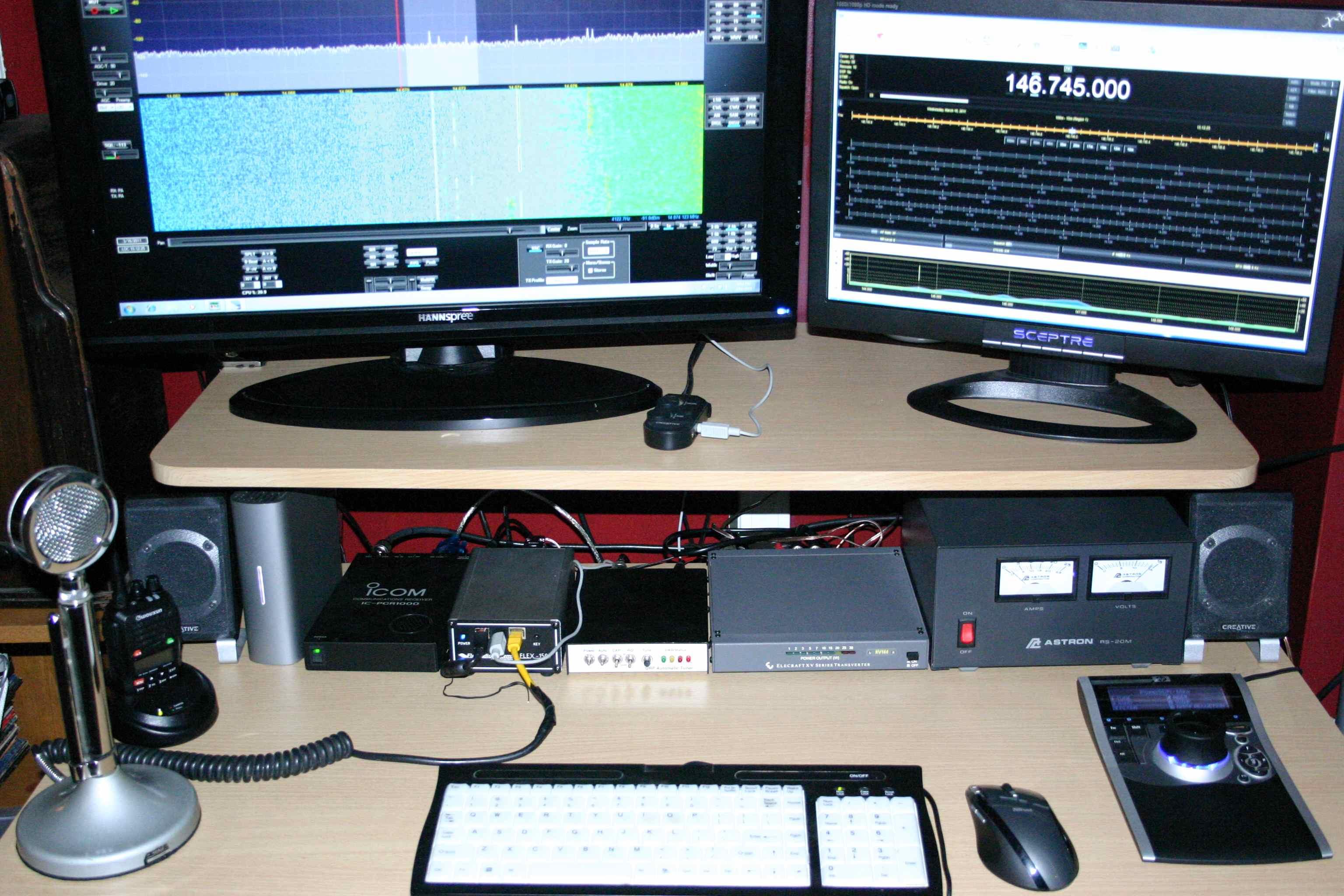 satellite Amateur equipment radio