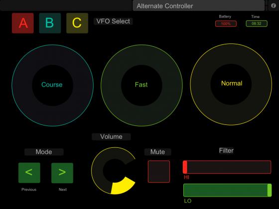 iPad Alternative Screen