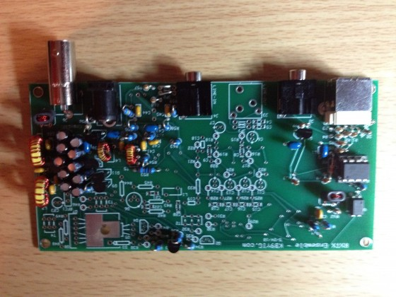 Completed Softrock Ensemble RX-TX Receiver