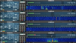 Afedri SDR-Net with Studio1 and 4 Virtual Receivers
