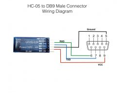 HC-05 to DB9 Connector